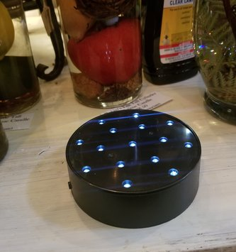 Battery LED Light Base