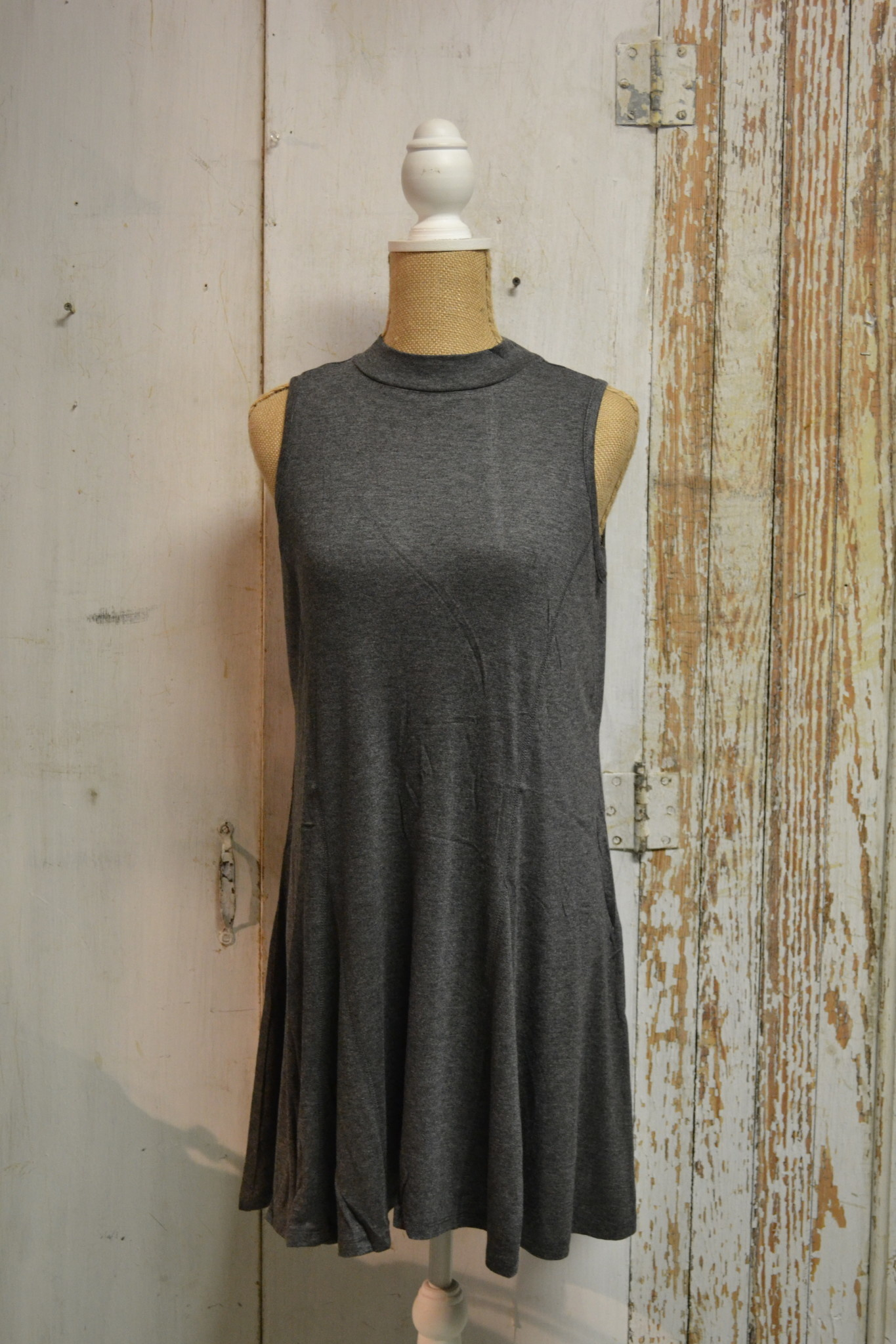 Swing Mock Neck Tunic