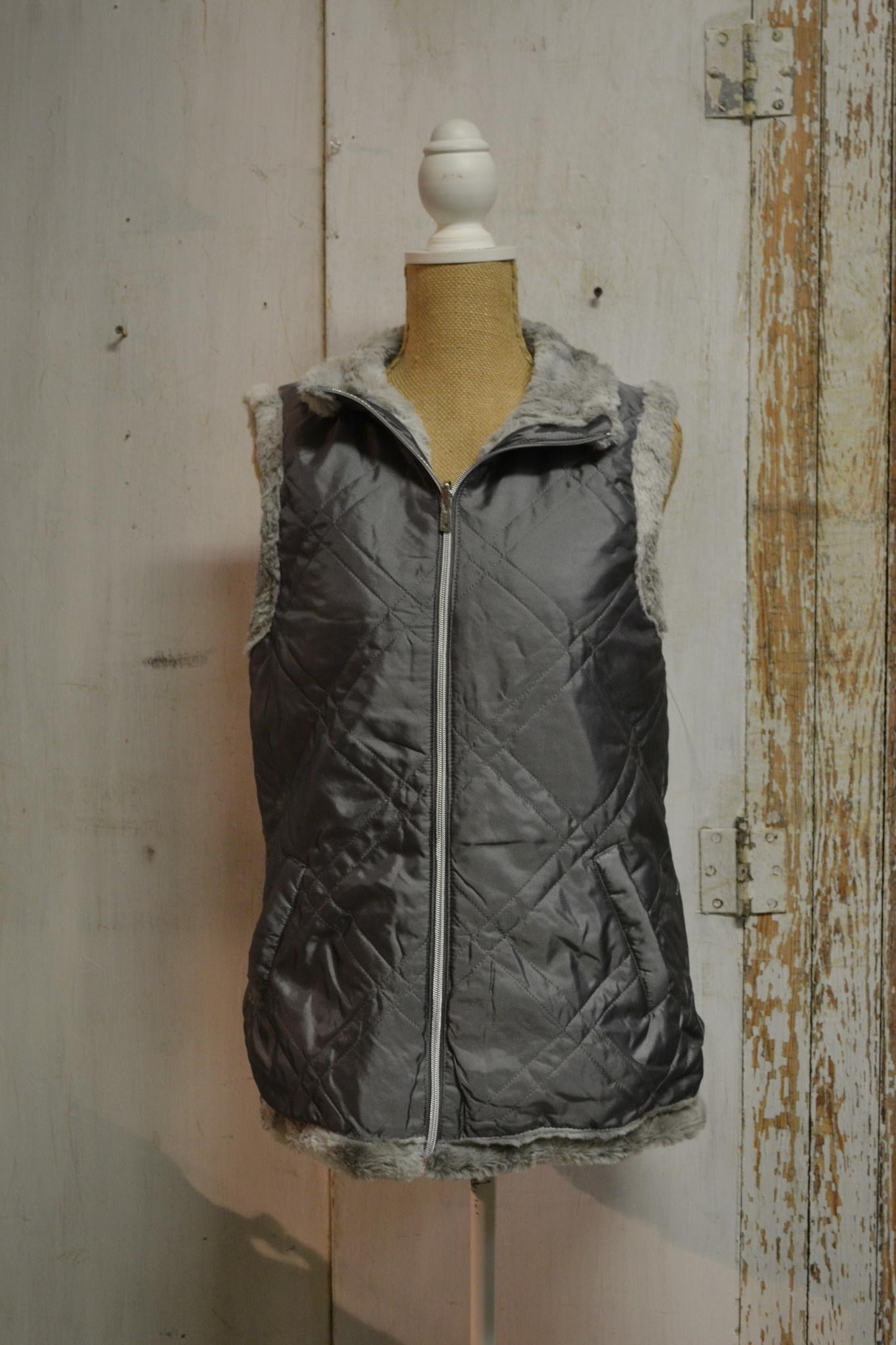 Reversible Cozy Zip Wrap
