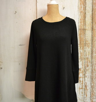 A-Line 3 Quarter Sleeve Tunic