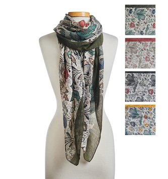 Fall Garden Scarf (4 Colors)