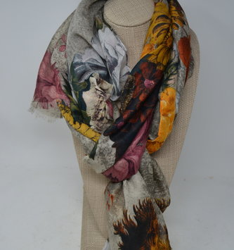 Fall Botanical Scarf (2 Colors)