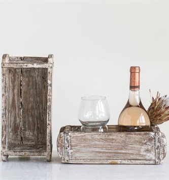 Antiqued Farmhouse Tray