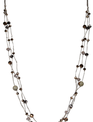 Shimmer Multi Strand Beaded Necklace