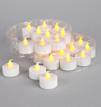 LED Flicker Flame Tea Light Votive