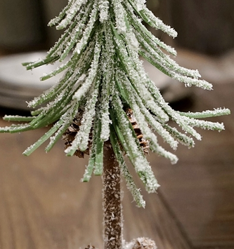 Snowy Douglass Mini Fir Tree (3 Sizes)