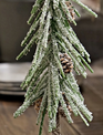 Snowy Douglas Fir Mini Tree