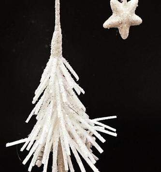 Snowy Shooting Star Fir Tree (2 Sizes)