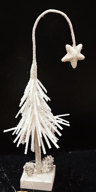 Snowy Shooting Star Fir Tree