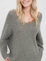 V-Neck Comfort Knit Sweater