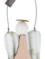 Wooden Angel Message Ornament