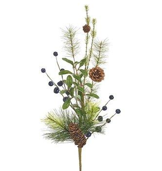 "28"" Blueberry Pine Pick"