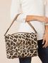 Simply Noelle Textured Leopard Print Shoulder Bag (2 Colors)