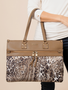Simply Noelle Paisley Animal Print Travel Tote (2 Colors)