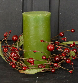 Red Mixed Berry Candle Ring
