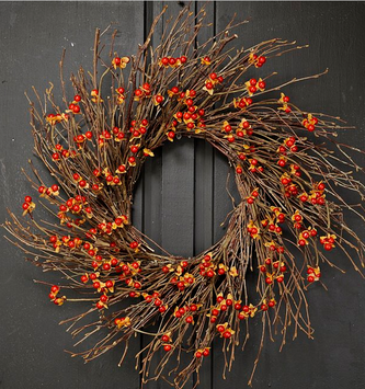 Country Bittersweet Twig Wreath