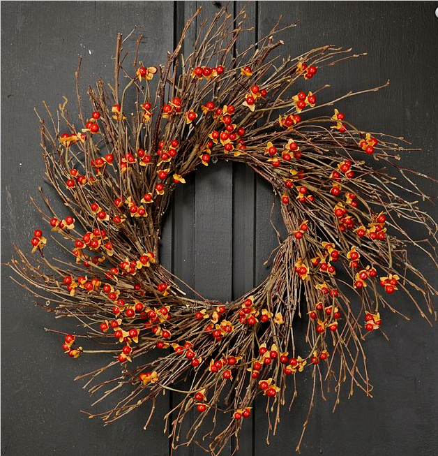 Country Bittersweet Twig Wreath Fall Wreaths The Last Straw
