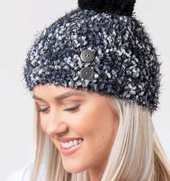 Simply Noelle Angel Hair Knubby Hat (2 Colors)