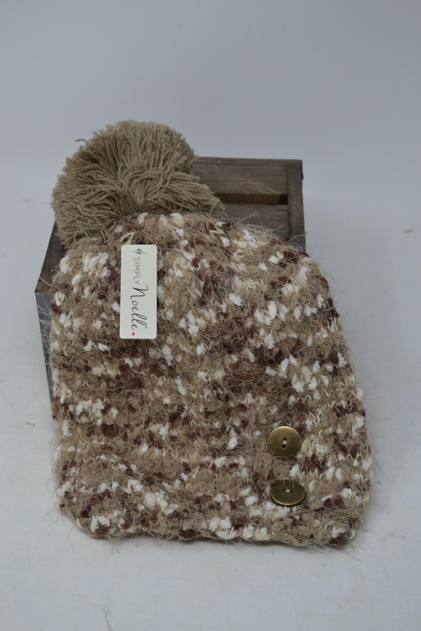Simply Noelle Angel Hair Knubby Hat