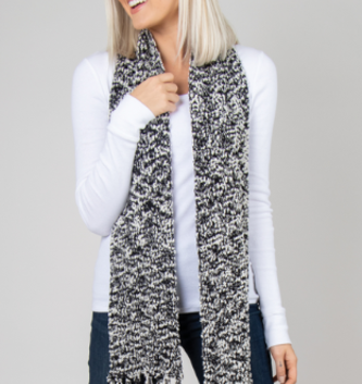 Simply Noelle Soft Knubby Straight Scarf (2 Colors)
