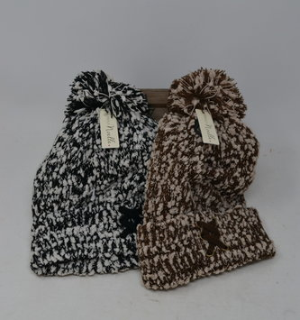 Simply Noelle Soft Knubby Knit Hat (2 Colors)