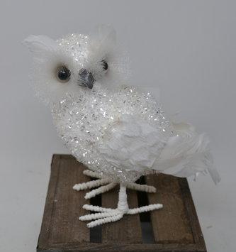 "8"" Snowy Iceland Owl"