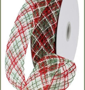 Tri Color Flexible Jute Ribbon