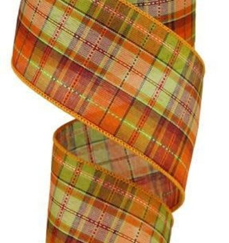 Fall Multi Plaid Ribbon