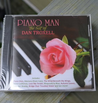 Piano Man CD By: Dan Troxell