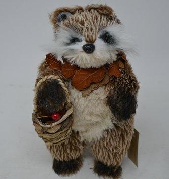 Standing Woodland Raccoon Ornament