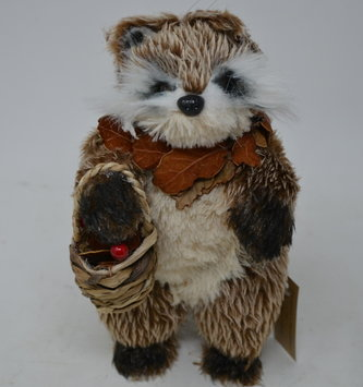 Standing Woodland Raccoon Ornament