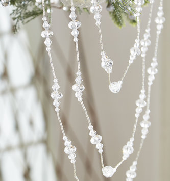 Triple Drape Crystal Garland