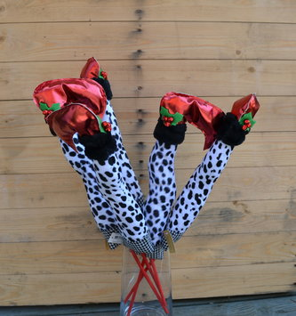 Dalmatian Elf Leg Pick