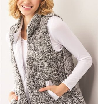 Reversible Fleece Quilted Vest