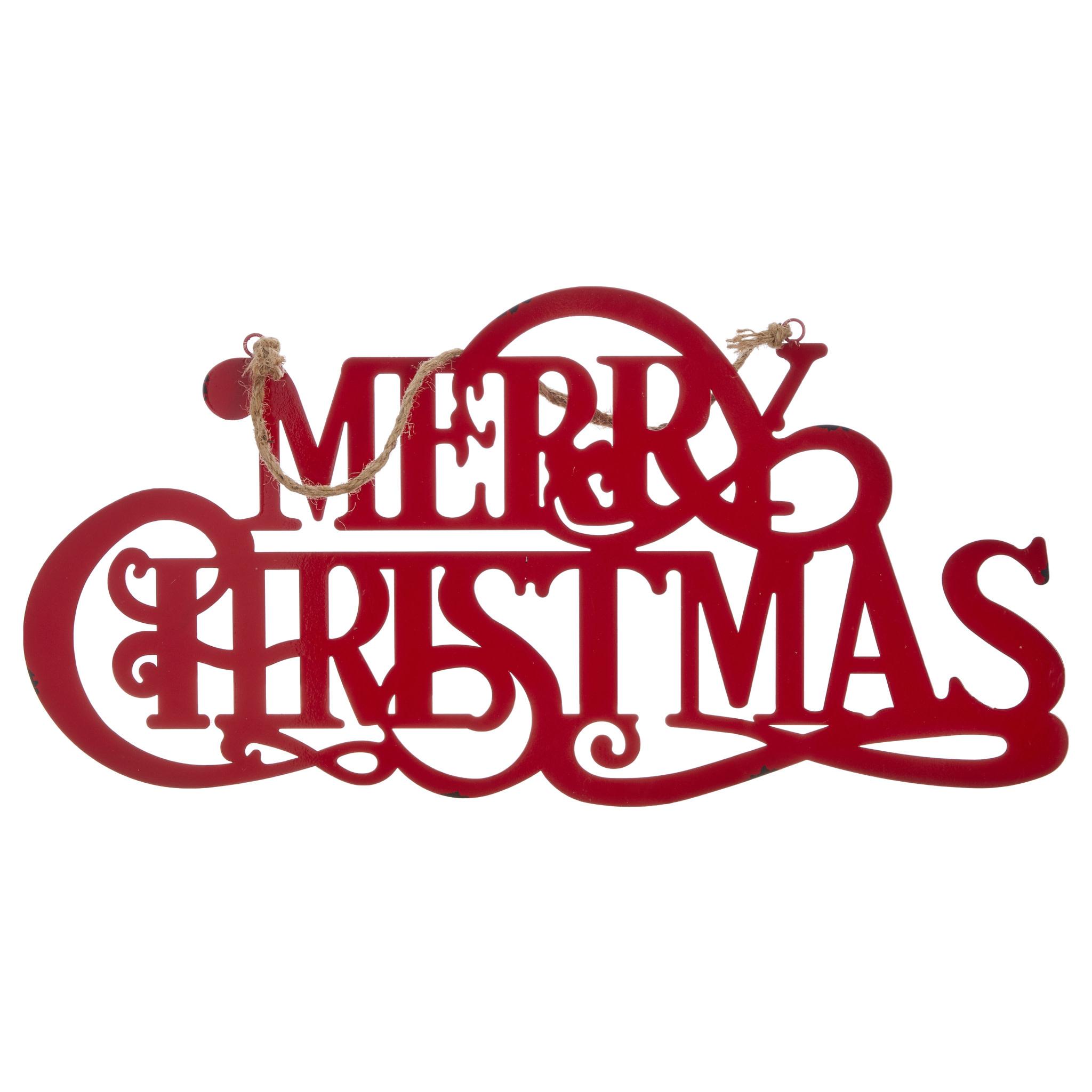 Christmas Signs.Metal Merry Christmas Hanging Sign Amazing Christmas Signs