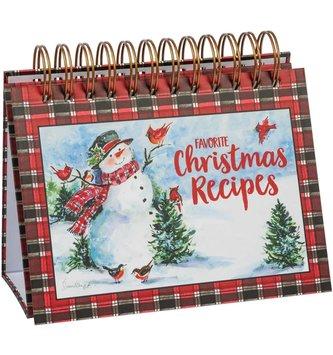 Snowman Recipe Book