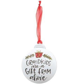 Grandkids Disk Ornament