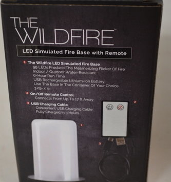 LED Wildfire Flameless Candle