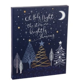 O Holy Night LED Canvas