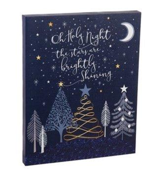 O Holy Night LED Canvas