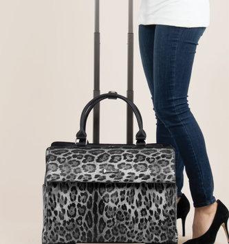 Simply Noelle Leopard Print Roller Bag