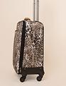 Simply Noelle Paisley Animal Print Rolling Luggage