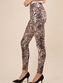 Simply Noelle Leopard Mixed Leggings