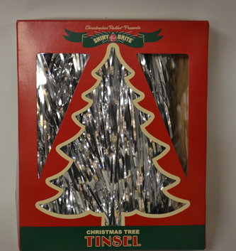 Christopher Radko Christopher Radko Holiday Splendor Silver Tinsel