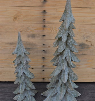 Winter Iced Christmas Tree (2 Sizes)