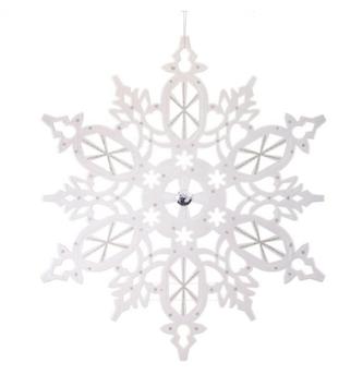 XL Metallic Snowflake