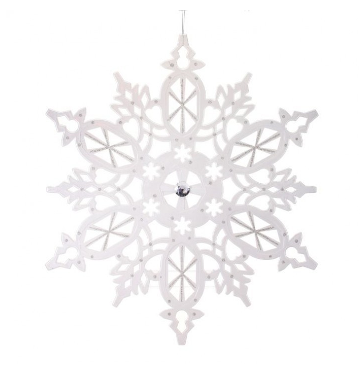 XL Metallic Snowflake