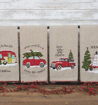 Holly Jolly Christmas Towel