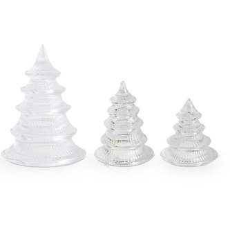 Ribbed Glass Tabletop Tree