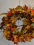Golden Susan Autumn Wreath Custom